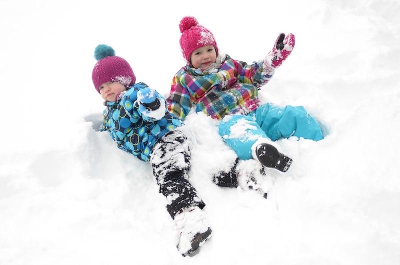 Wir können auch Schnee